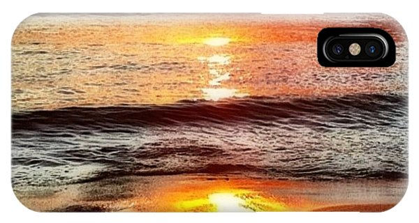 Sunset View Of Watch Ho - Square  IPhone Case