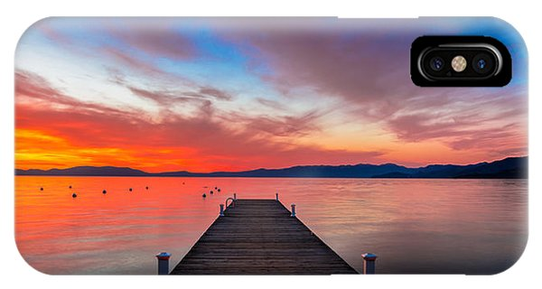 Clear iPhone Case - Sunset Walkway by Edgars Erglis