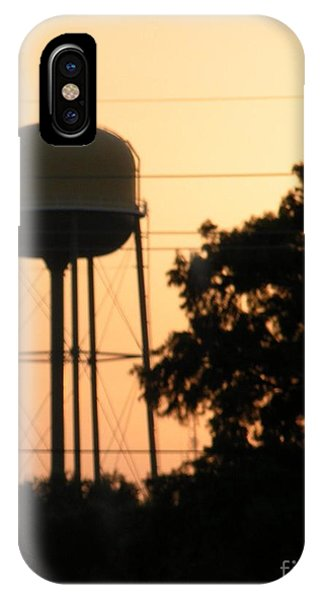 Sunset Water Tower IPhone Case