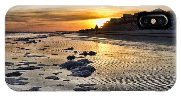 Sunset Wild Dunes Beach South Carolina IPhone Case