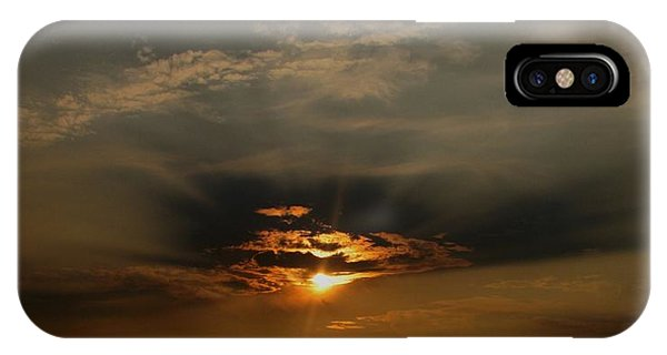 Sunsets On Empire IPhone Case