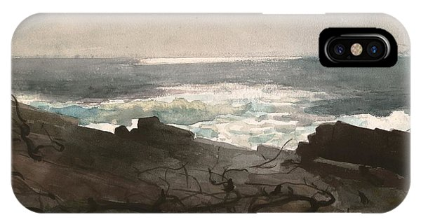 iPhone Case - Sunshine And Shadow Prouts Neck by Winslow Homer