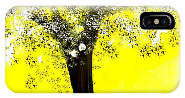 Sunshine Blossom Tree IPhone Case