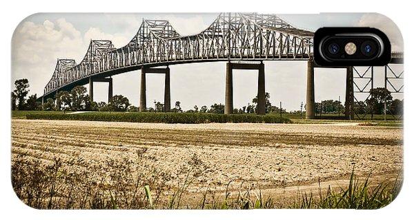 Sunshine Bridge Mississippi Bridge IPhone Case