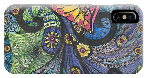 Sunshine In My Heart Tangle IPhone Case