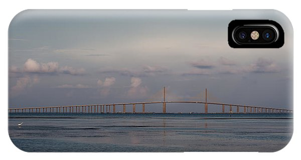 Sunshine Skyway Bridge IPhone Case