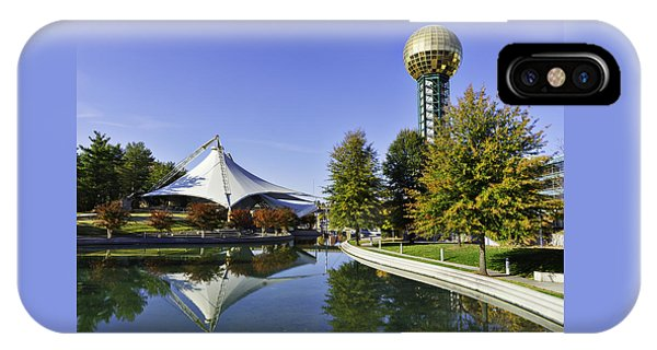 Sunsphere In The Fall IPhone Case