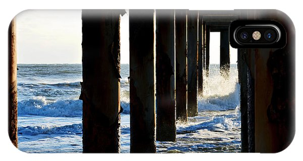 Sunwash At St. Johns Pier IPhone Case