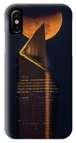 Zombies iPhone Case - Super Blue Blood Moon by Faisal Alnomas