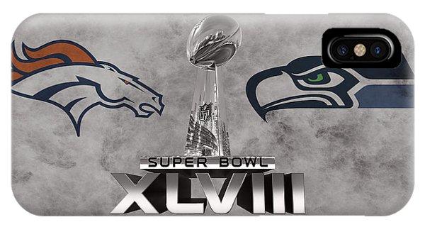 New York Mets iPhone Case - Super Bowl Xlvlll by Joe Hamilton