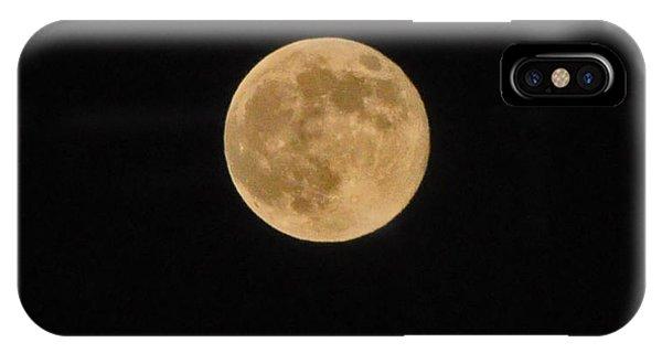 Super Moon 8 10 14 IPhone Case