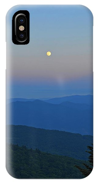 Super Moon Phone Case by Mary Anne Baker