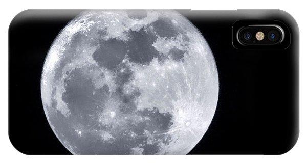 Super Moon Over Arizona  IPhone Case