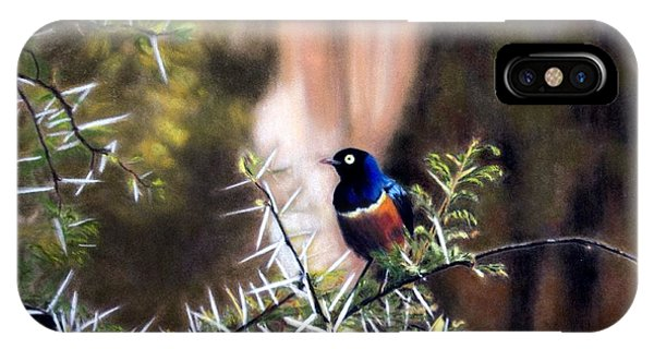 Superb Starling IPhone Case