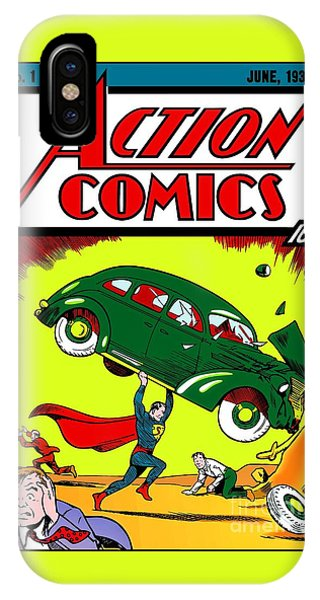 First Edition - Superman Comic Book  IPhone Case