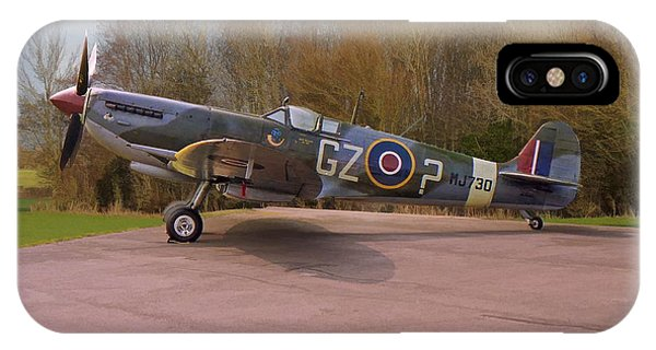 Supermarine Spitfire Hf Mk. Ixe Mj730 IPhone Case