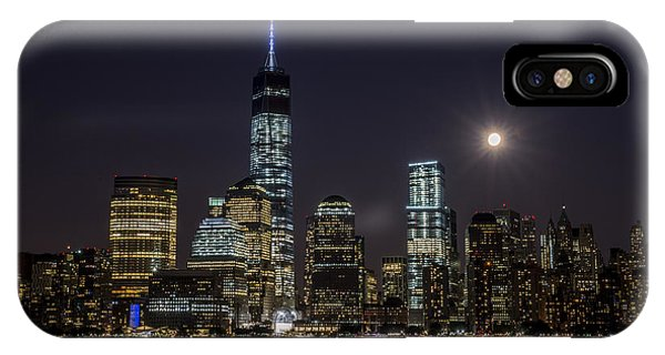 IPhone Case featuring the photograph Supermoon by Johnny Lam