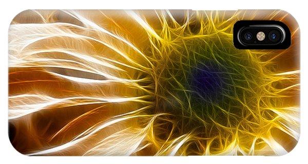Fractal iPhone X Case - Supernova by Adam Romanowicz
