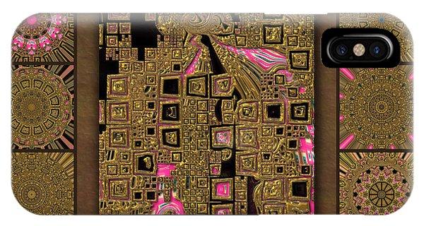 Supernova Pinkxels Redux  IPhone Case