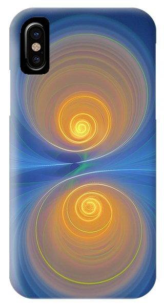 Supersymmetry And Or Bipolarity IPhone Case