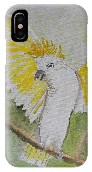 Suphar Crested Cockatoo IPhone Case