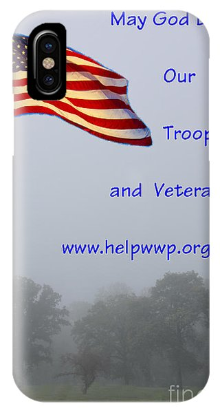 Support Our Troops And Veterans IPhone Case