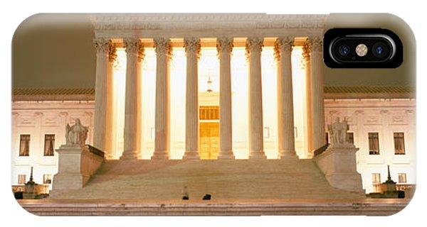 Supreme Court Building Illuminated IPhone Case