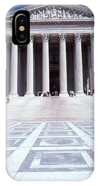 Fairness iPhone Case - Supreme Court, Washington, D.c by Eunice Harris