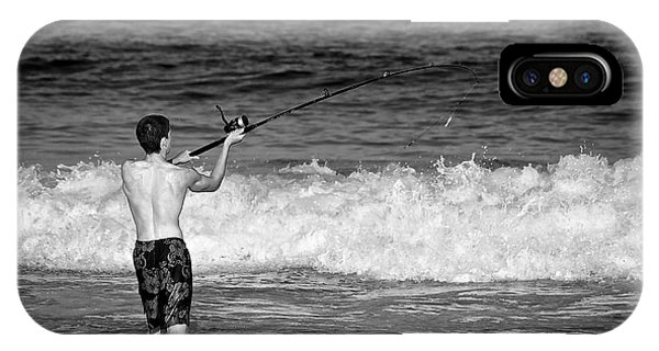 Surf Fishing IPhone Case