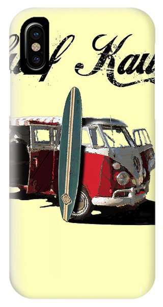 Surf Kauai IPhone Case