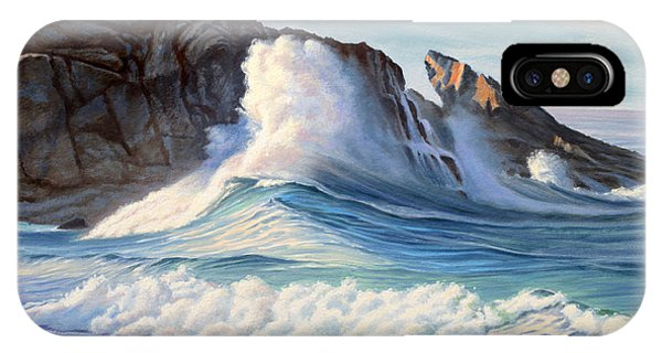 Rocky iPhone Case - Surf by Paul Krapf