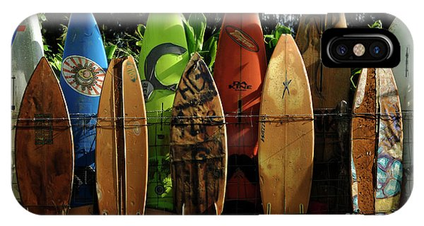 Oahu iPhone Case - Surfboard Fence 4 by Bob Christopher