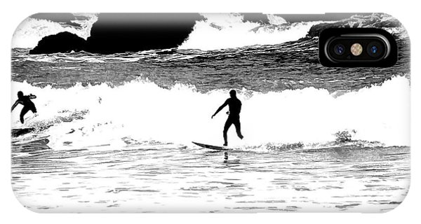 Surfer Silhouette IPhone Case