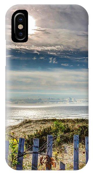 Surfers At Coast Guard Beach IPhone Case
