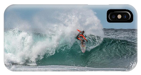 North iPhone Case - Surfing 2 by Eunice Kim
