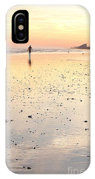 Surfing Sunset IPhone Case