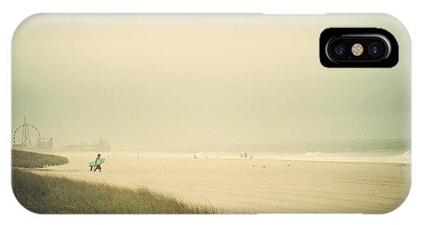 Surf's Up Seaside Park New Jersey IPhone Case