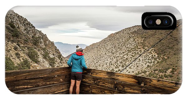 Knit Hat iPhone Case - Surprise Canyon, Death Valley, Ca, Usa by David Hanson