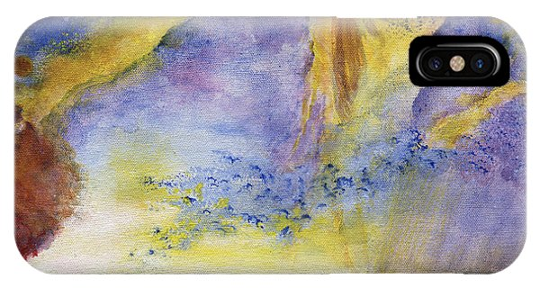 Surreal Abstract Art Landscape With Shore IPhone Case