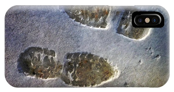 Surreal Footprints IPhone Case