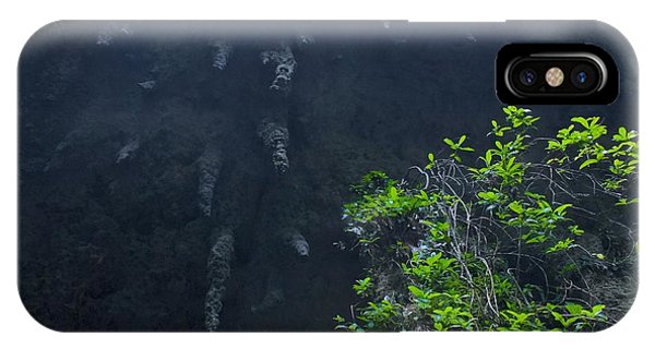 Surreal Stalactites At The Camuy Caverns Phone Case by Sandra Pena de Ortiz