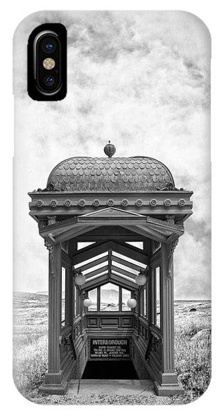 Strange iPhone Case - Subway Surreal by Edward Fielding