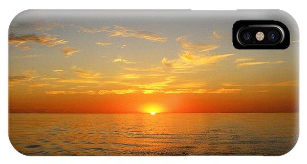 Surreal Sunrise At Sea IPhone Case