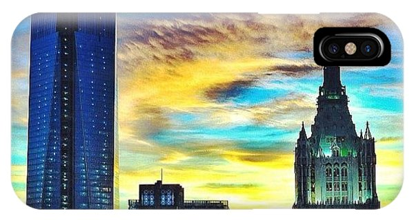 City Scape iPhone Case - Surreal by Tom Palompelli