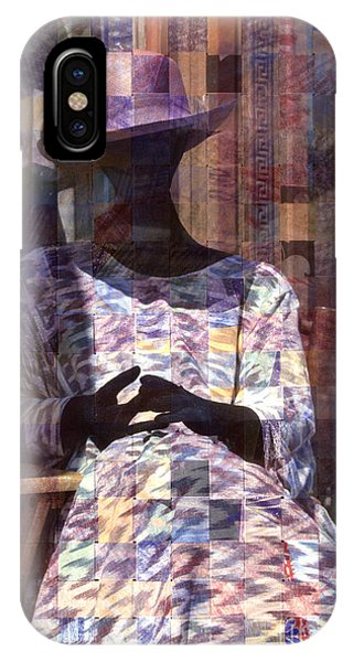 surreal urban mannequin - Incognito IPhone Case