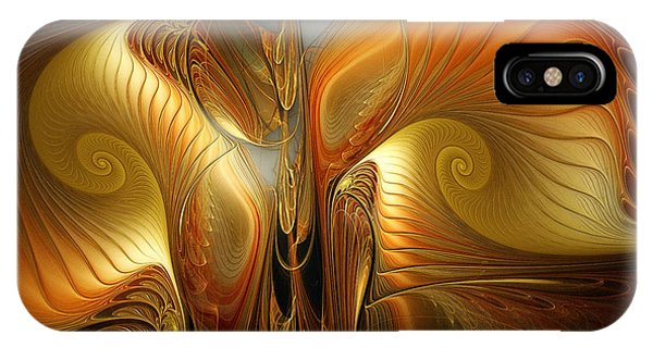 Surrealistic Landscape-fractal Design IPhone Case