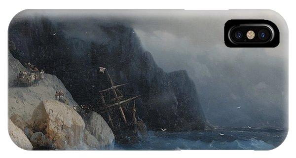 iPhone Case - Survivors Of A Shipwreck On A Rocky Path  by Viktor Birkus