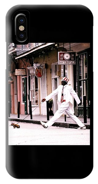 New Orleans Suspended Animation Of A Mime IPhone Case