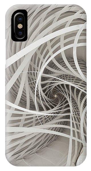 Suspension Bridge-fractal Art IPhone Case