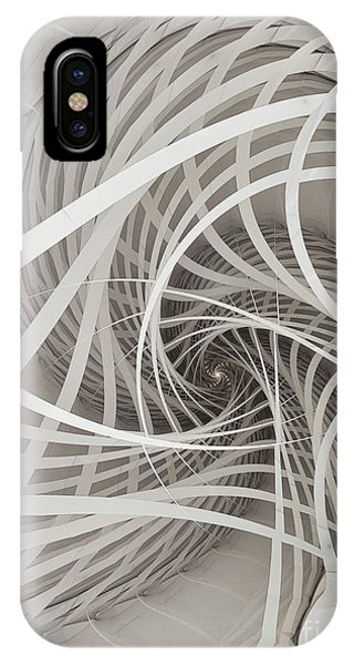Suspension Bridge-fractal Art IPhone Case